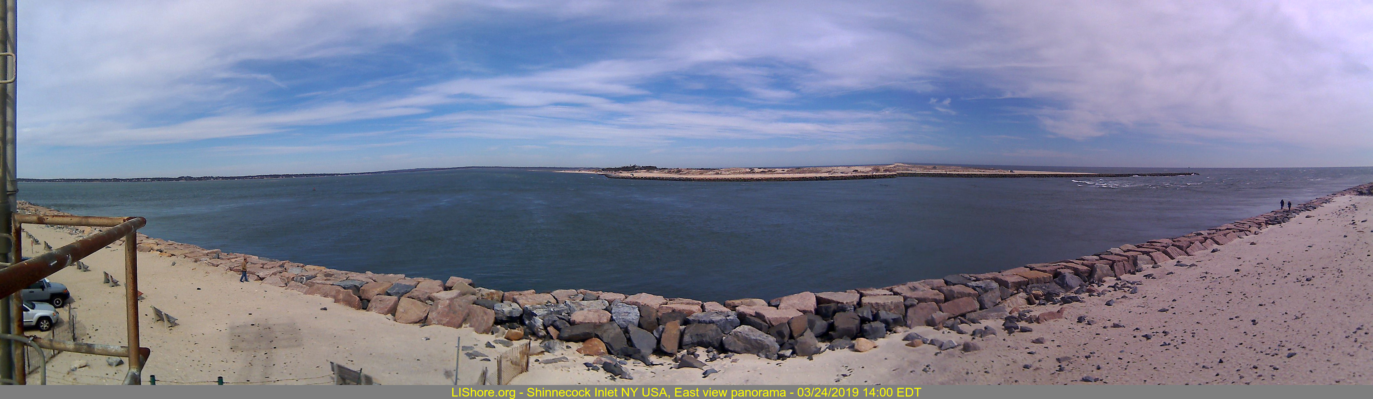 Shinnecock Inlet Panoramic East, generated every 15 minutes